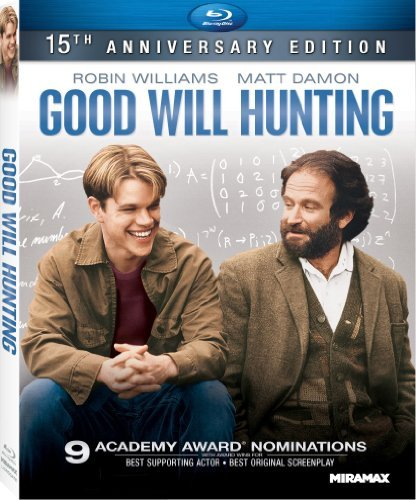 Good Will Hunting Williams Damon Affleck Blu Ray Dc R Ws