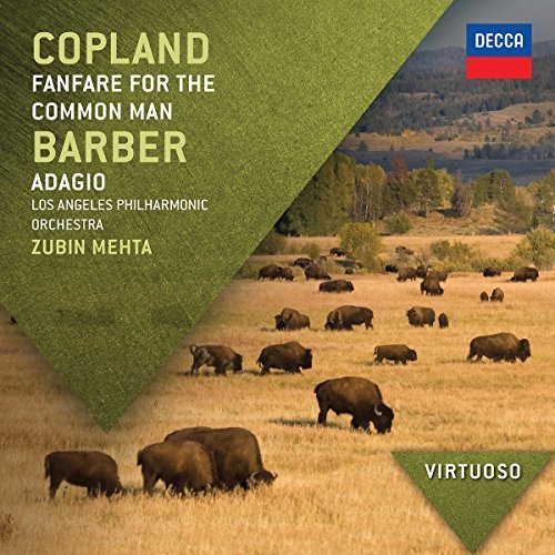 Copland Barber Fanfare For The Common Man Ada Virtuoso Mehta Lapo Zinman Baltimore Sy