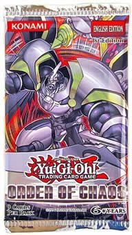 Yu Gi Oh Cards Order Of Chaos Booster Pack
