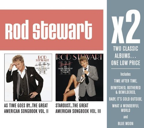 Rod Stewart X2 (as Time Goes By The Great 2 CD