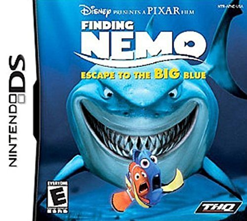 Nintendo Ds Finding Nemo Escape To The Bi Disney Interactive Distri E