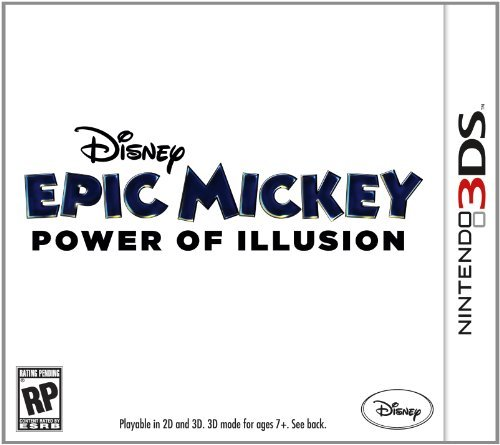 Nintendo 3ds Epic Mickey 2 The Power Of Two Disney Interactive Distri E