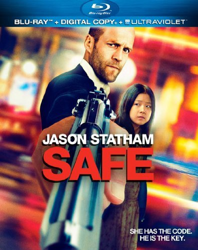 Safe Statham Chan Burke Blu Ray Ws Nr Incl. Dc