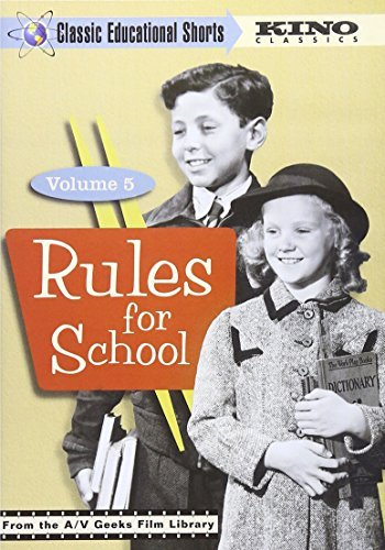 Vol. 5 Rules For School Classic Educational Shorts Nr