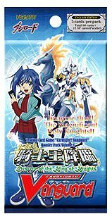 Cardfight Vanguard Cards Descent Of The King Of Knights Booster Pack