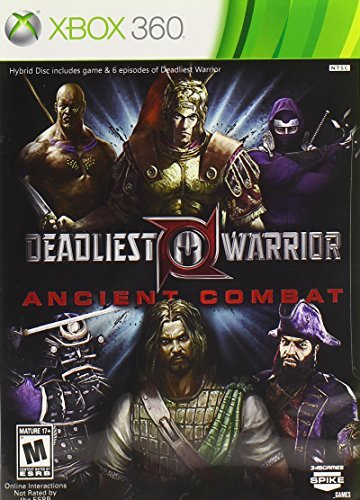 Xbox 360 Deadliest Warrior Ancient Combat