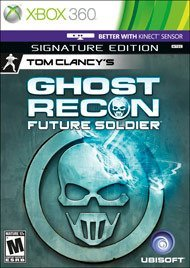 Xbox 360 Ghost Recon Future Soldier Signature Edition
