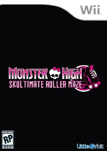 Wii Monster High Skulltimate Roll E