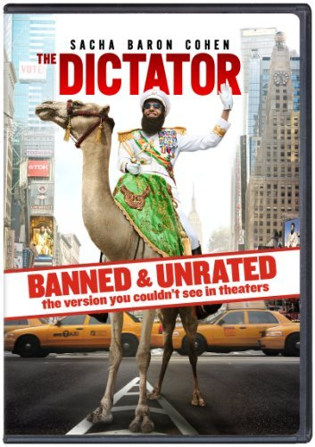 The Dictator Cohen Kingsley Faris DVD Unrated