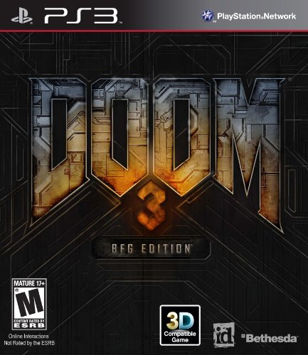 Ps3 Doom 3 Bfg Edition Bethesda Softworks Inc. Rp