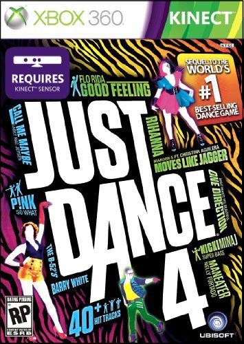 Xbox 360 Just Dance 4 Requires Kinect E10+