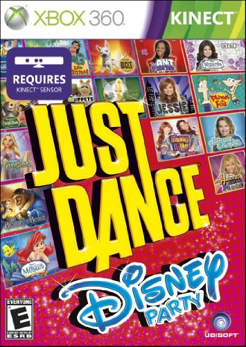 Xbox 360 Just Dance Disney Party Requires Kinect