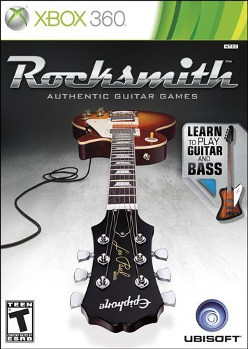 X360 Rocksmith Guitar & Bass T