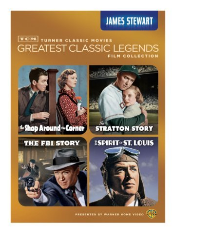 Tcm Greatest Classic Films Le Stewart James Nr 4 DVD