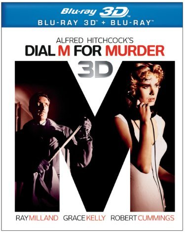 Dial M For Murder 2d 3d (1954) Milland Kelly Cummings Blu Ray Ws Nr 2 Br