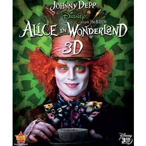 Alice In Wonderland (2010) 3d Depp Wasikowska Carter Hathawa Blu Ray