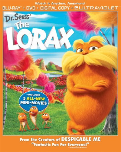 Dr. Seuss' The Lorax (2012) Dr. Seuss' The Lorax (2012) Blu Ray Ws Pg Incl. DVD Dc Uv