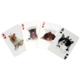 3 D Cats Playing Cards