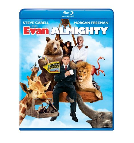 Evan Almighty Carell Freeman Blu Ray Ws Pg