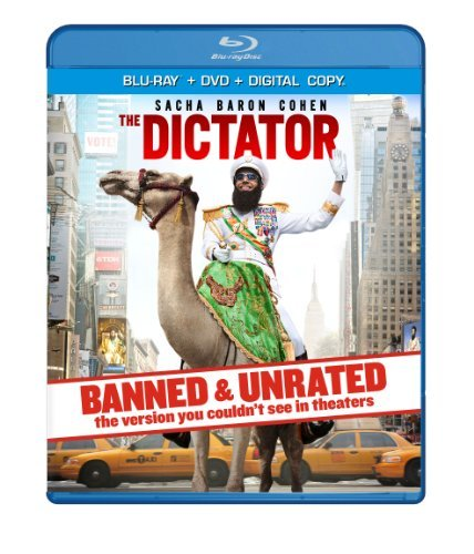 The Dictator Cohen Kingsley Faris Blu Ray DVD Dc Unrated