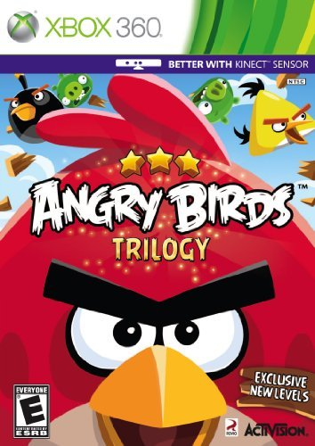 Xbox 360 Angry Birds Trilogy (kinect Co Activision Inc. E