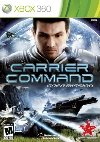 Xbox 360 Carrier Command Gaea Mission Aksys Games M