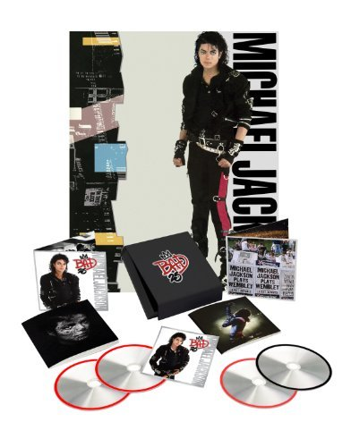 Michael Jackson Bad 25th Anniversary Deluxe Ed. 3 CD DVD