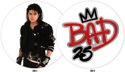 Michael Jackson Bad 25th Anniversary Picture Vinyl