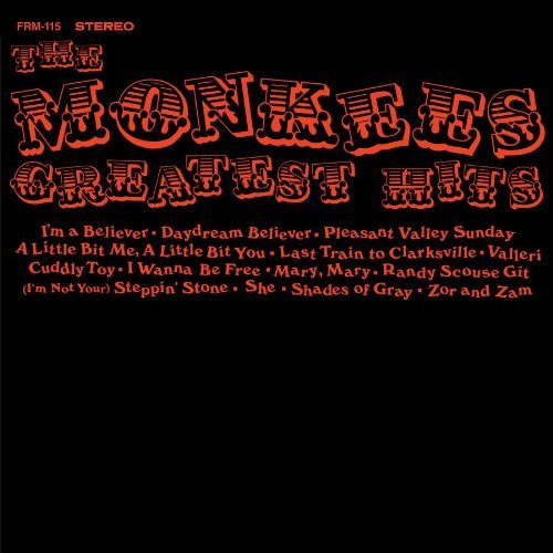 Monkees Greatest Hits 180gm Vinyl