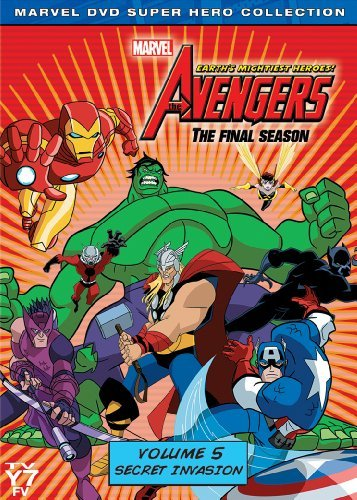 Avengers Earth's Mightiest Heroes Volume 5 DVD Nr 2 DVD