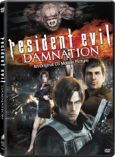 Resident Evil Damnation Resident Evil Damnation DVD Dc R Animated Feature