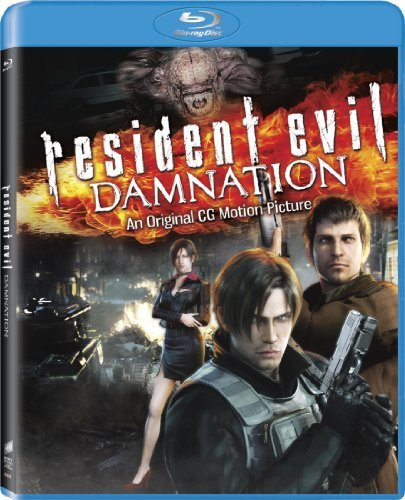 Resident Evil Damnation Resident Evil Damnation Blu Ray Dc R Animated Feature