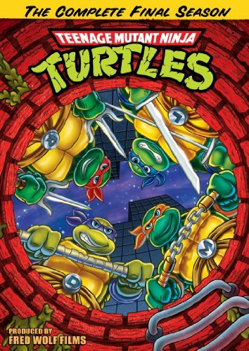 Teenage Mutant Ninja Turtles Season 10 Final Season DVD
