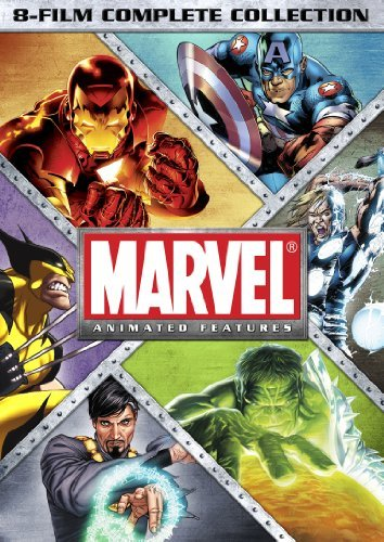 Marvel Animated Features 8 Fil Marvel Animated Features 8 Fil Ws Pg13 8 DVD