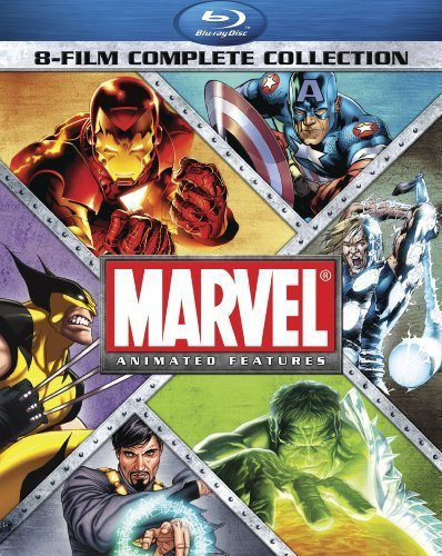 Marvel Animated Features 8 Film Collection Marvel Animated Features 8 Film Collection Blu Ray Ws Pg13 8 Br