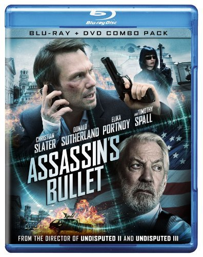 Assassin's Bullet Slater Sutherland Spall Blu Ray Ws R Incl. DVD