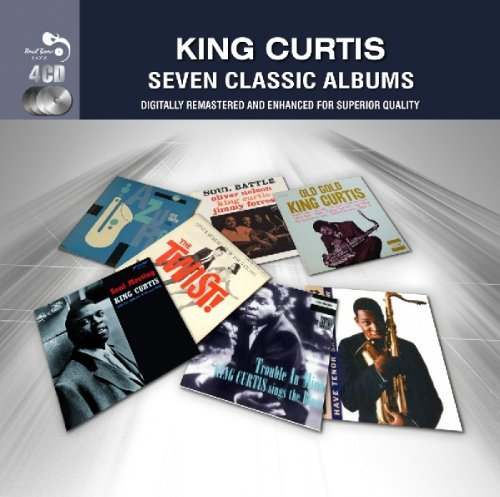 King Curtis Seven Classic Albums Import Gbr 4 CD