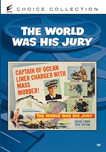World Was His Jury Freeman Booth Mcqueeney DVD R Nr