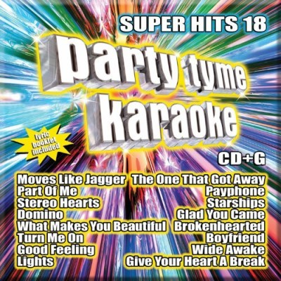 Party Tyme Karaoke Vol. 18 Super Hits Incl. Cdg 16 Song