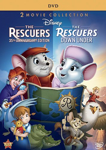 Rescuers Rescuers Down Under Double Feature DVD G Ws