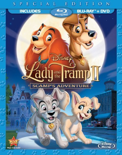 Lady & The Tramp 2 Scamp's Adventure Lady & The Tramp 2 Scamp's Adventure Blu Ray Ws Special Ed. G Incl. DVD