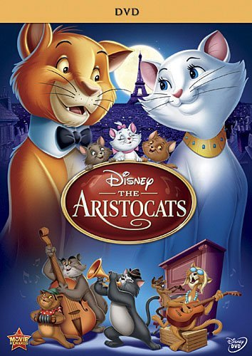 Aristocats Disney DVD G