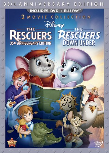 Rescuers Rescuers Down Under Rescuers Ws 35th Annv. G 2 DVD 1 Br