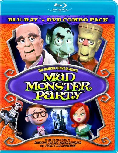 Mad Monster Party Mad Monster Party Blu Ray Ws Nr Incl. DVD