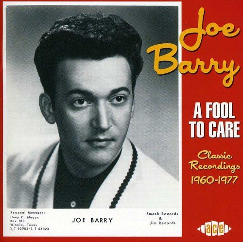 Joe Barry Fool To Care Import Gbr 2 CD