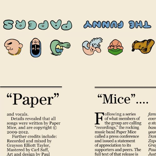 Paper Mice Funny Papers