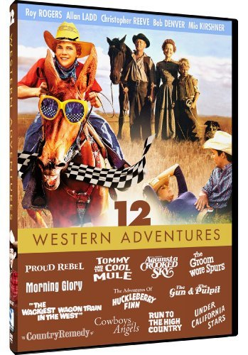 Family Film Collection Western Adventures Pg 3 DVD