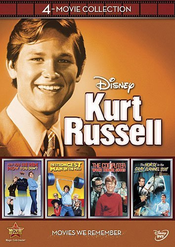 Kurt Russell Disney 4 Movie Collection Disney 4 Movie Collection