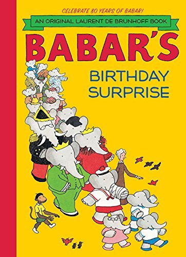 Laurent De Brunhoff Babar's Birthday Surprise Revised