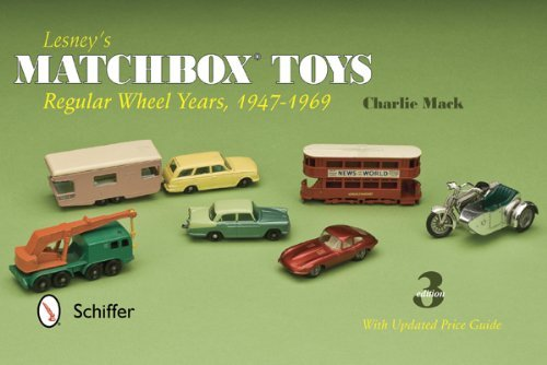 Charlie Mack Lesney's Matchbox Toys Regular Wheel Years 1947 1969 0003 Edition;revised